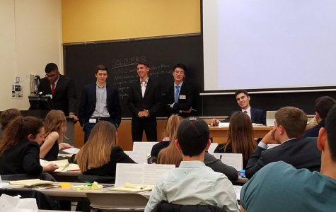 Model United Nations Club Partakes in Columbia University Conference