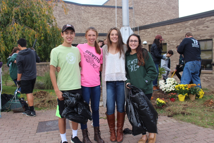 Josh Herman, Elsa Neubauer, Diana Magnan, and Josie Conti pride themselves on a beautiful job well done.