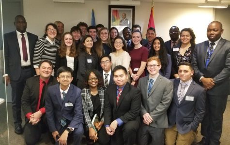 Debate, Diplomacy, and Problem-Solving, Brewster Attends Columbia Model UN Conference