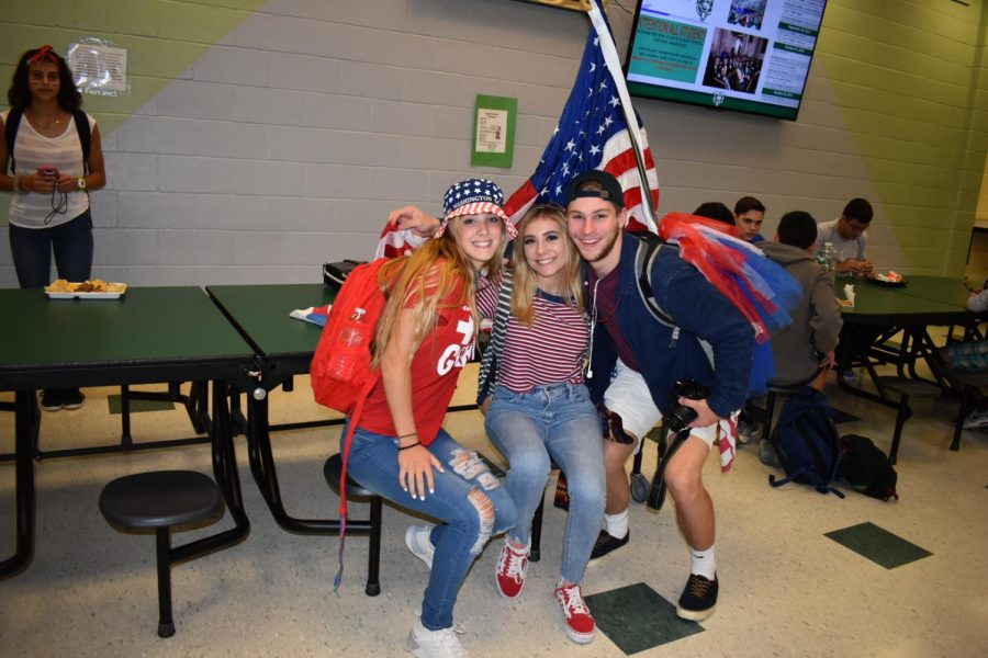 Spirit Week Continues: USA Tuesday!