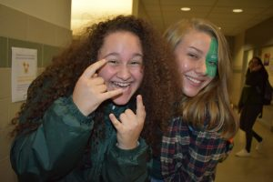 Spirit Week Concludes: Green and White Day Part 2!