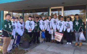 BrewTown Hockey Team Scores with Donations  to Local Shelter
