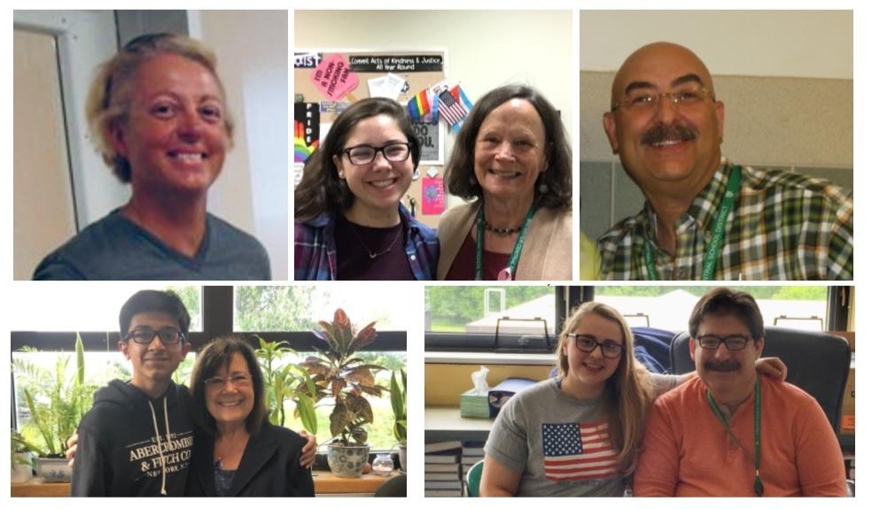 Pictured (left to right) are: Nora Paladino, Charlotte Greene, BHS Assistant Principal Danielle Tripoddo, Brendan Fox and Erin Renzi