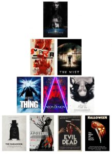Bear Facts Top Ten Presents: My Favorite Horror Movies – Films to Chill You This Summer