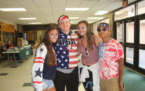 Spirit Week Patriotically Marches on with USA Day!