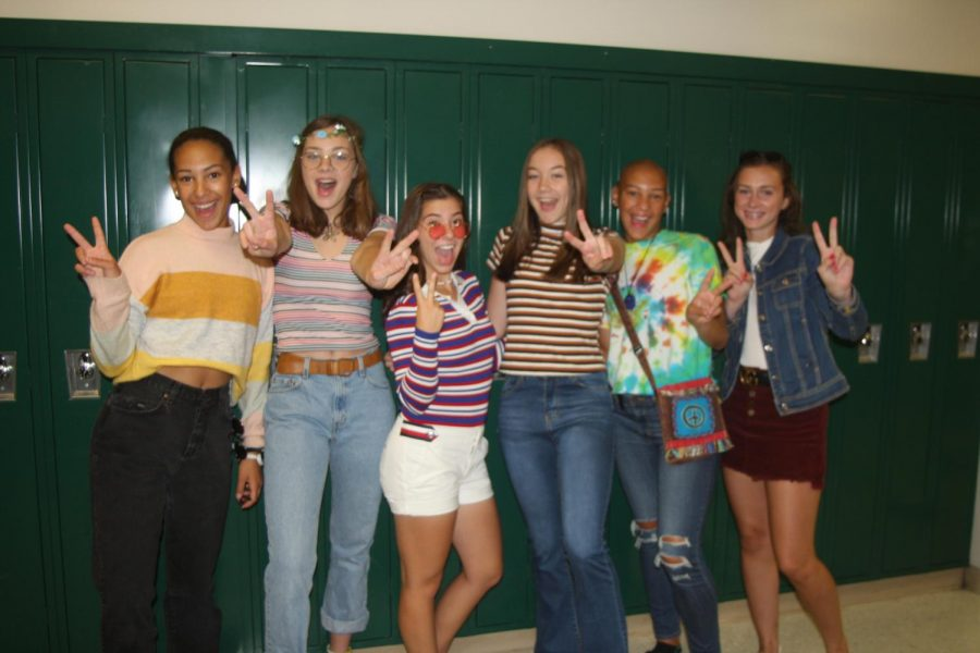 Holy Flashbacks!  Spirit Week Brings the Decades!
