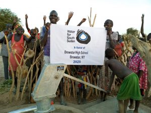 "Mrs. Juska's ""Walk for Water"" Fundraiser Opens Two Wells in South Sudan"