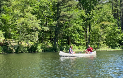 Tori Corre a (12) - I have been spending time outdoors and recently went canoeing with my family.
