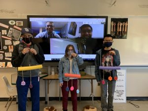Career Skills Class Distributes PPE and Smiles