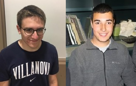 Peter Arnold (left) and Matt Scipioni (right) prepare for a unique and well-earned summer adventure.