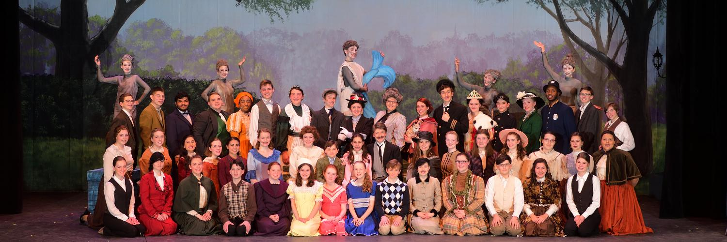 "With a heart full of song, the full cast of ""Mary Poppins""  was thrilled to learn of their nominations."