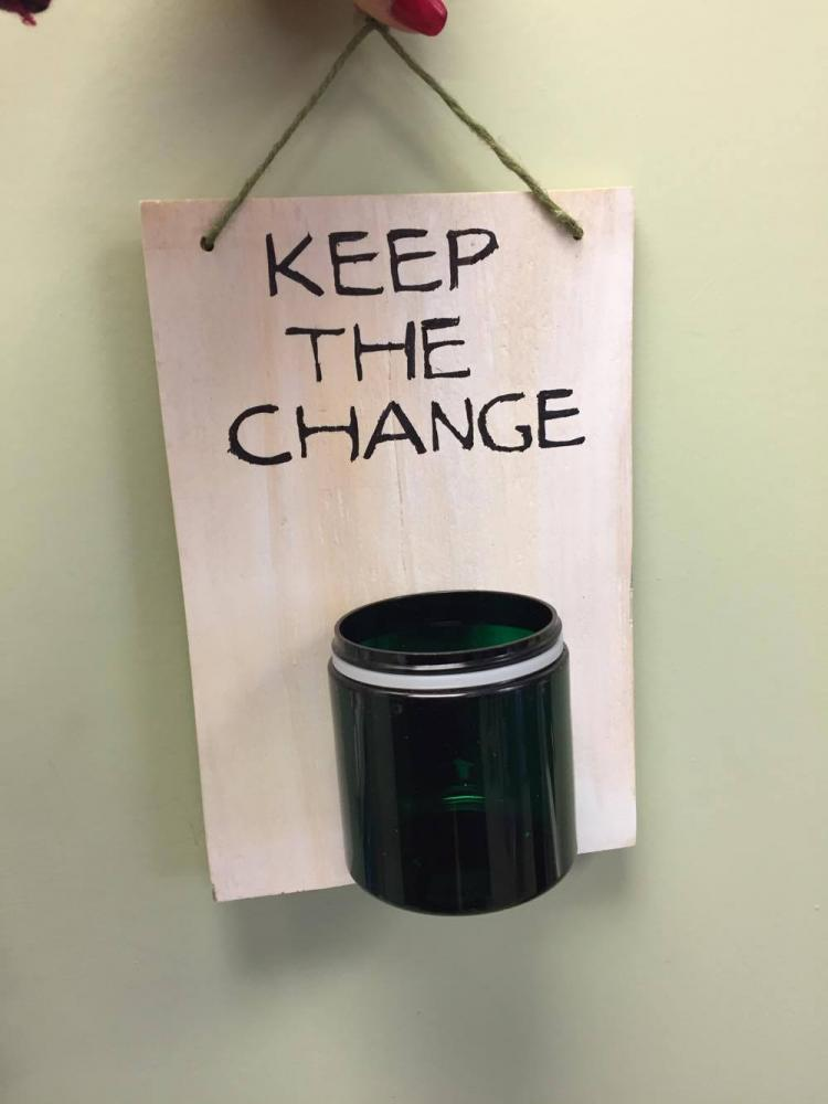 "Will You Be the Change While You ""Keep The Change""?"