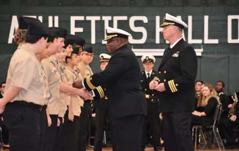 Brewster's NJROTC Shines during 2017 Annual Inspection