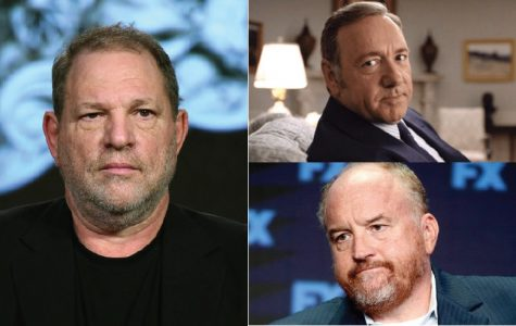 Clockwise from left, studio mogul Harvey Weinstein, actor Kevin Spacey, and comedian/actor Louis CK have all had various sexual and abuse of power allegations leveled against them in the recent months.