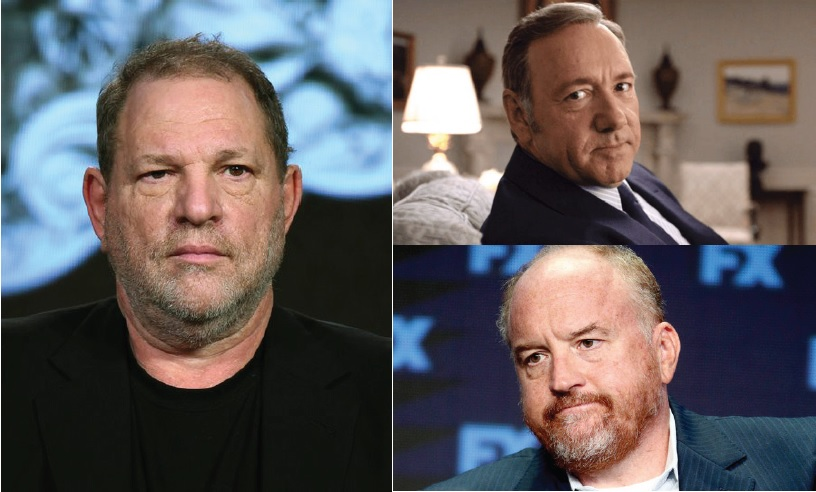Clockwise+from+left%2C+studio+mogul+Harvey+Weinstein%2C+actor+Kevin+Spacey%2C+and+comedian%2Factor+Louis+CK+have+all+had+various+sexual+and+abuse+of+power+allegations+leveled+against+them+in+the+recent+months.