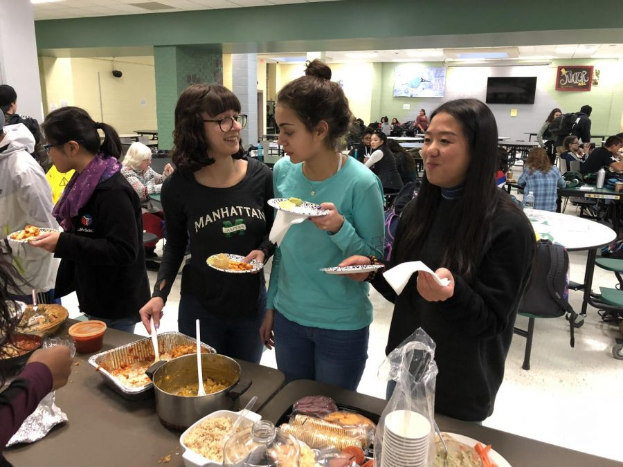 Global Community Club Hosts Annual Food Fest
