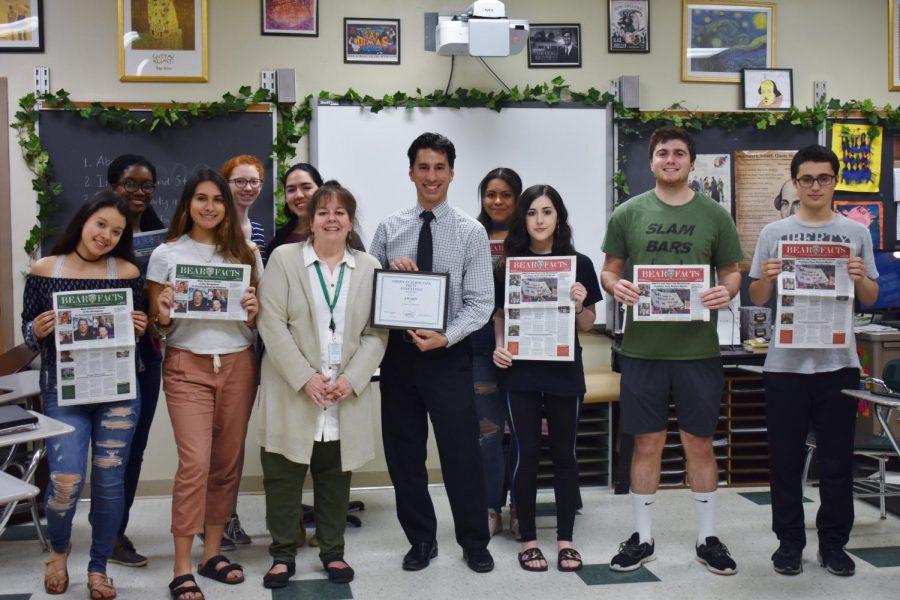 Bear Facts Newspaper Wins National Award
