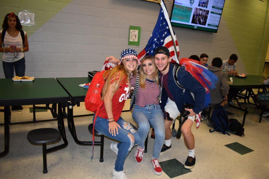 Spirit Week Continues: USA Tuesday!