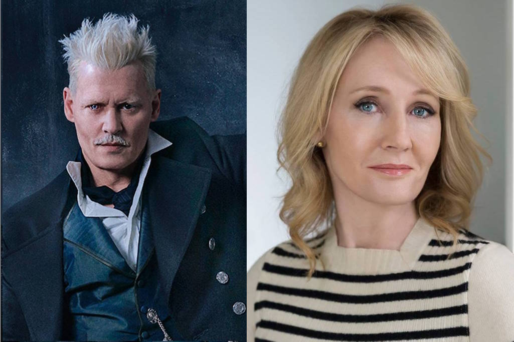 In the wake of allegations of abuse against actor Johnny Depp, coupled with a lifestyle that is less than admirable, can we support separate the artist from the art and watch Fantastic Beasts without judgment?  Should we?  What about when much-praised and successful female author J.K. Rowling supports his casting?  (Photos courtesy Warner Bros. Studios)