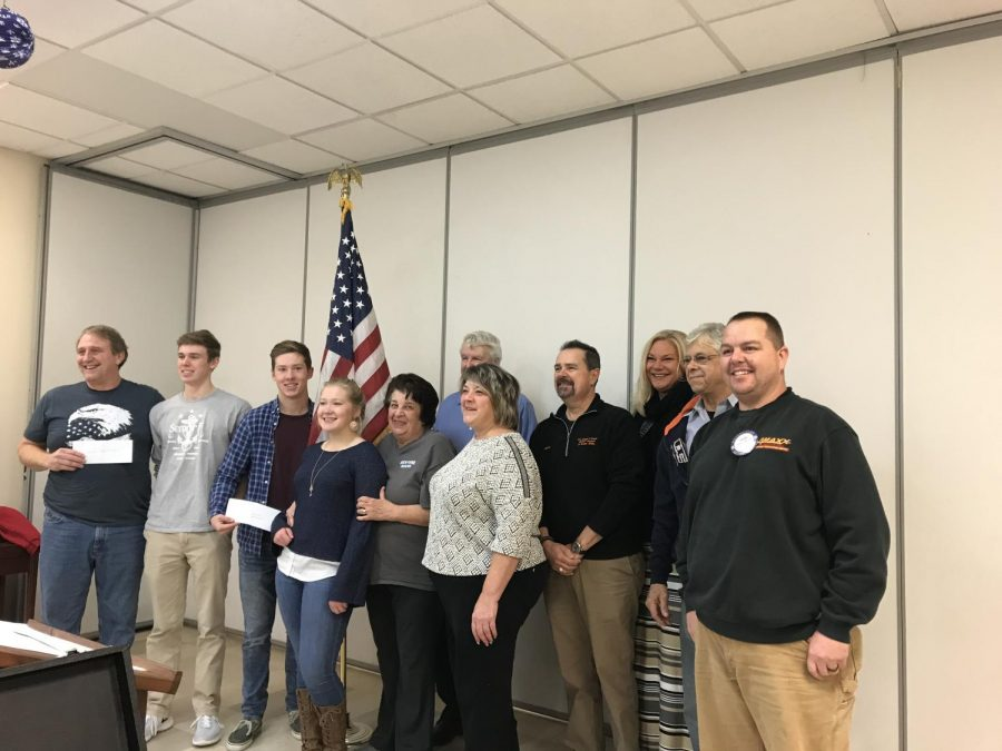 Semper Fi Recognized by Patterson Rotary