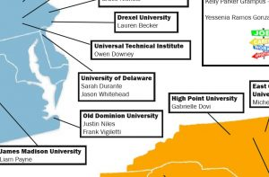 What the Future Holds - 2020 Senior Map