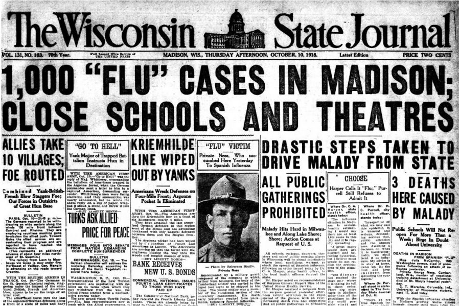 Haven't We Done This Before?  The 1918 Spanish Flu