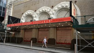 The Booth theater is just one of many that have been directly affected by the pandemic.