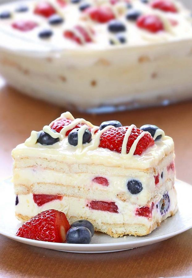 What's Cooking Around BHS - Independence No-Bake Icebox Cake!